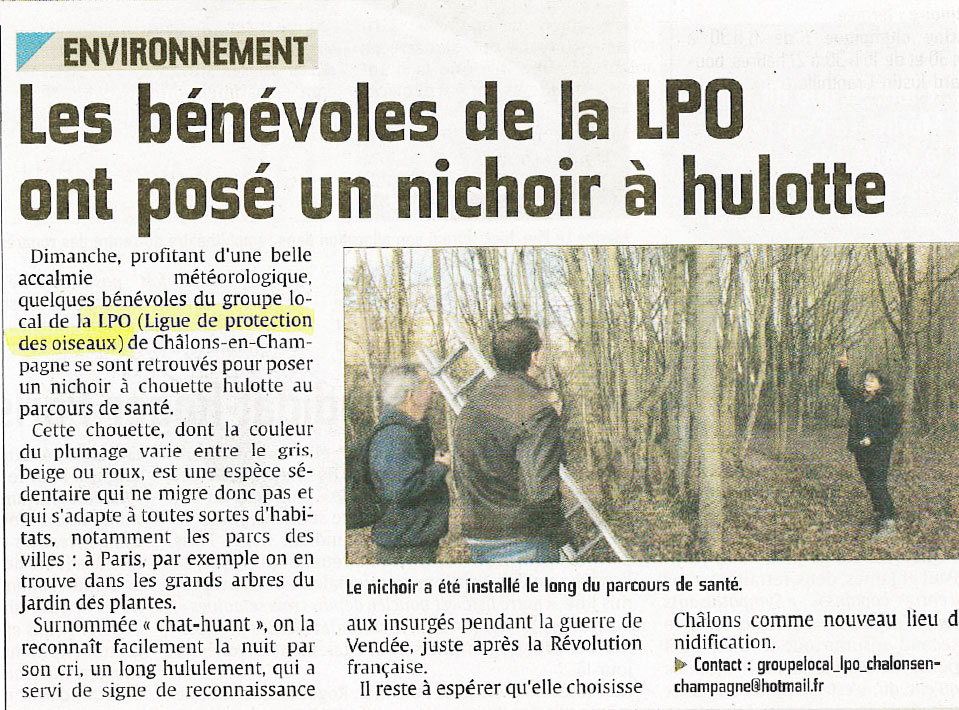 Article groupe local de Châlons