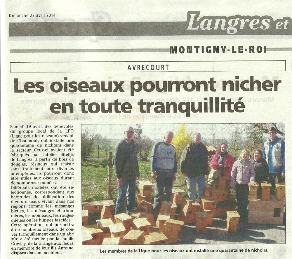 article jhm pose de nichoirs avrecourt